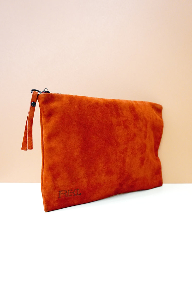 Leather Zip Bag A6