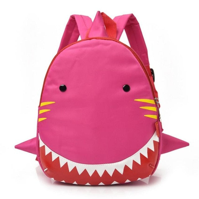Baby Boys Girls Kids Shark Pattern Animals Backpack Toddler School Bag –  Kids Toy Bags bfe2acab11123