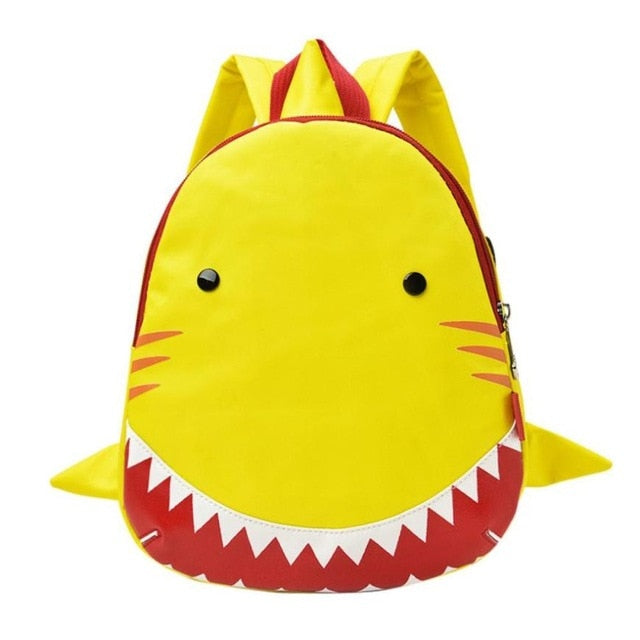 c8ee16539f Baby Boys Girls Kids Shark Pattern Animals Backpack Toddler School ...