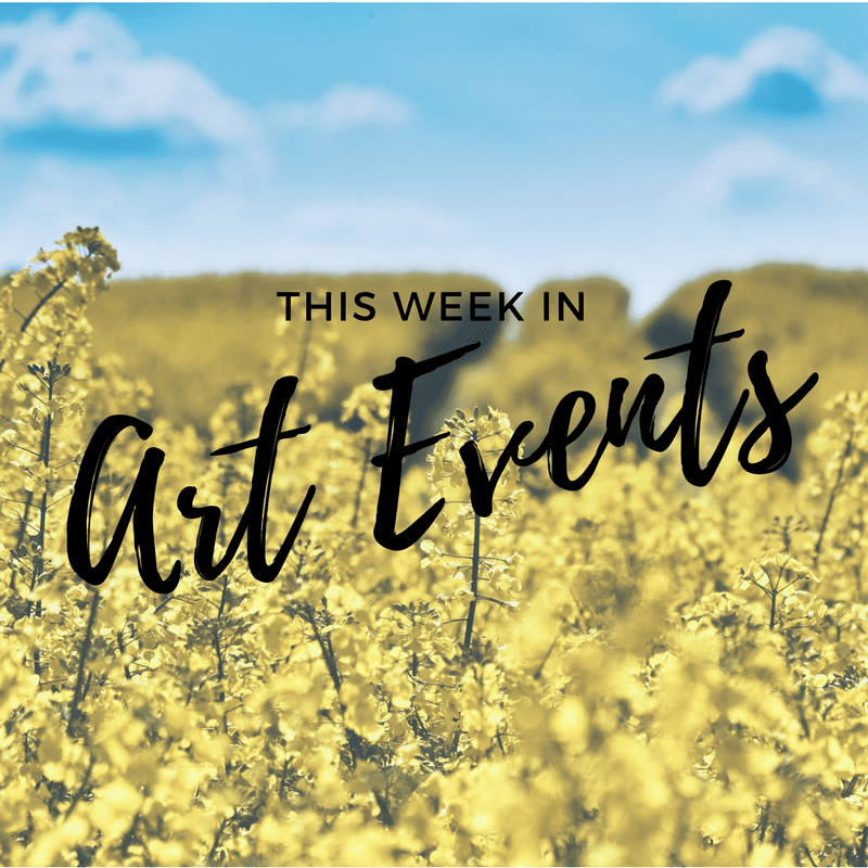 This week in art events 1.31.17