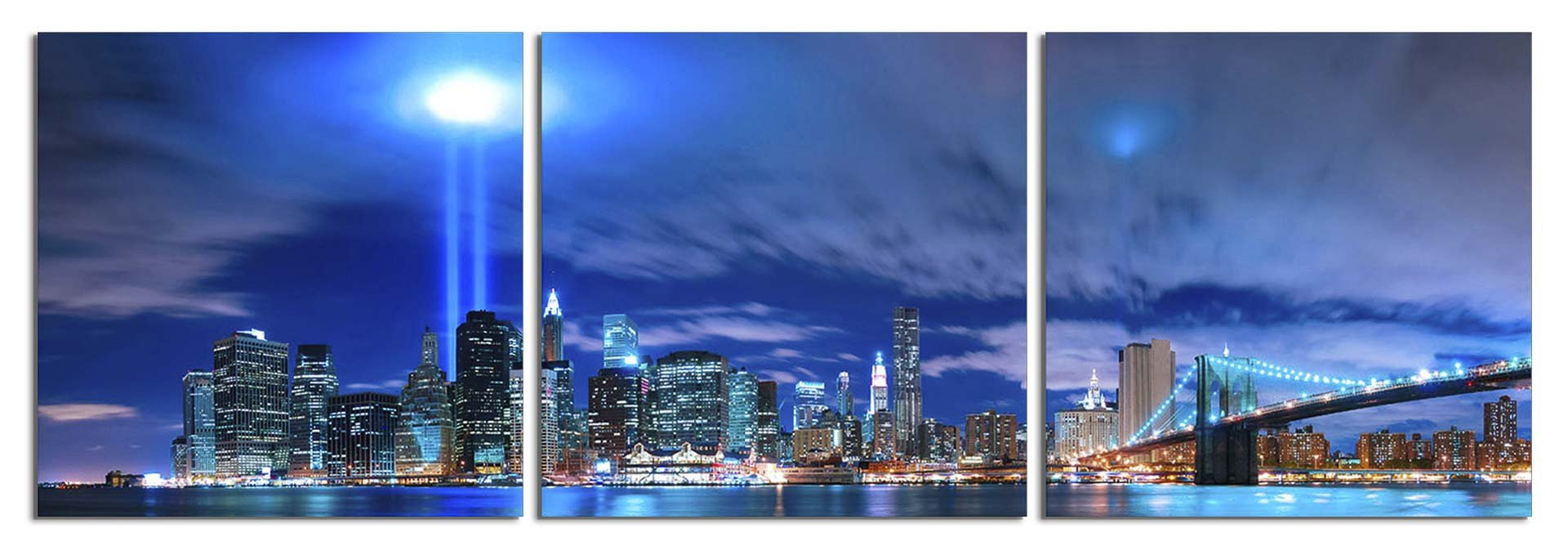 New York City: World Trade Center Lights ...