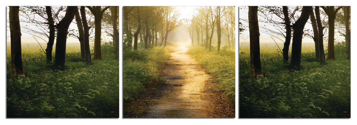 Photography Triptych Print - 3 Panel Landscape Photography