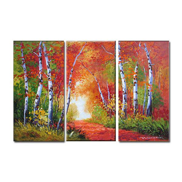 A Day at the Park - 3 Panel Wall Art - Canvas Photography Prints
