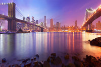 Between The Bridges, NYC  - Large Canvas Photography - Large Canvas Wall Art