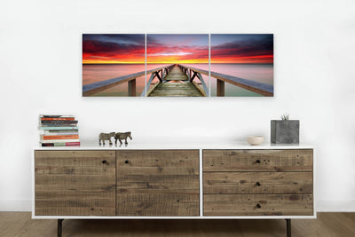Pier in Splendid Sunrise