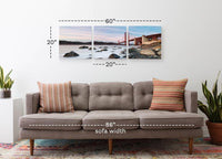 Breaking Daylight <h2>3 Panel Cityscape Panorama Canvas Photography Print. Taken by Photographer Adrien Clement.</h2>