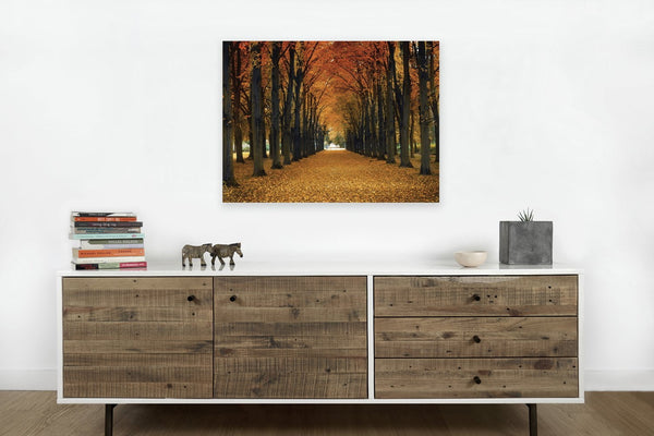 Autumn Forest <h2>Nature Landscape Canvas Photography Print</h2>