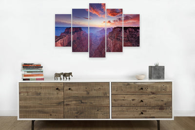 Grand Canyon #4 (HD Canvas 5-Panel)