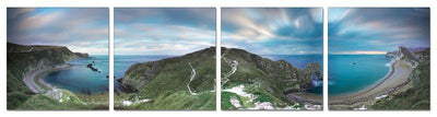 Blue Bay Sunrise Landscape Photography Print
