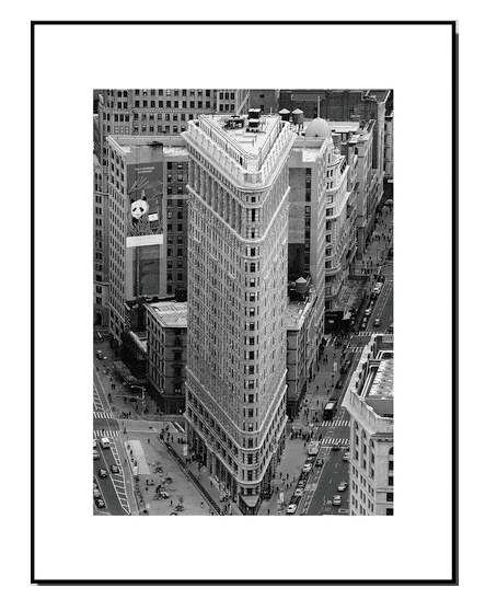 Framed Black and White Photography Print