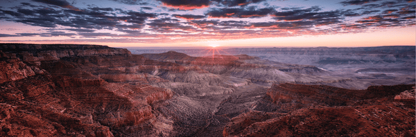 Aeons Grand Canyon <h2>Nature Landscape Canvas Photography Print</h2>