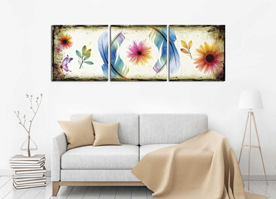 Butterflies & Flowers Design