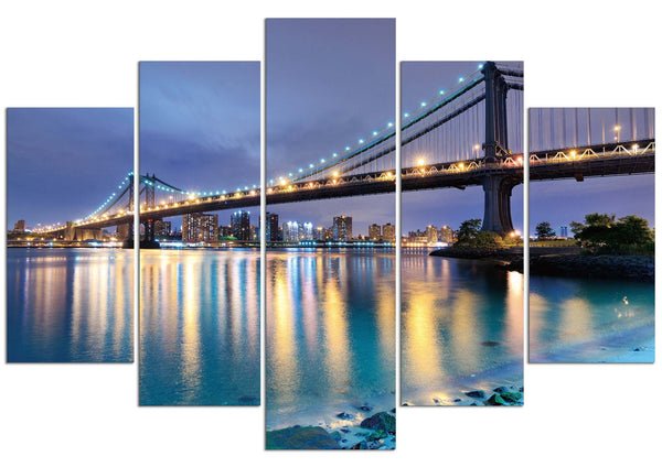 New York City (HD Canvas 5-Panel)
