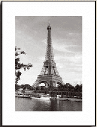 Eiffel Tower, Paris: Framed Photography Print