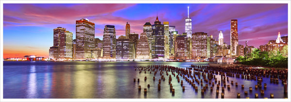 Beautiful skyline NYC
