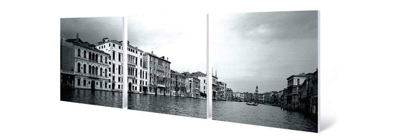 The Canals of Venice (B&W)