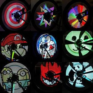 Bicycle Wheel Light Programable