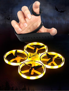 Glove Control Gesture Sensing Mini Drone Foldable Arm