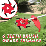 6 Teeth Brush Grass Trimmer