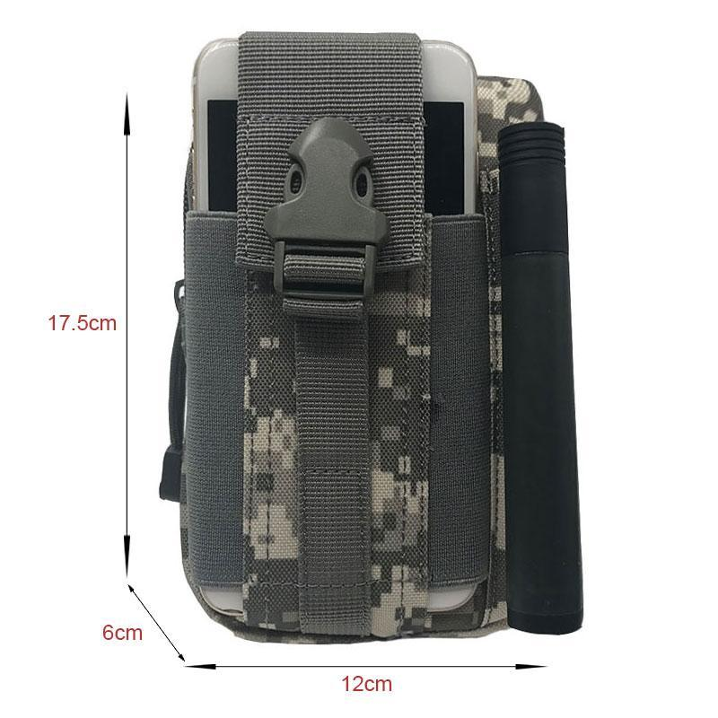 Casual Sport Tactical Military Outdoor Belt Molle Waist Bag