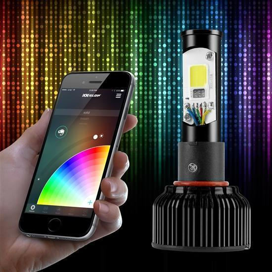 2 in 1 LED Bulb Kit - Smartphone APP Bluetooth Control