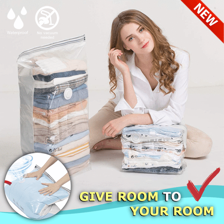 Free Hand Pump Vacuum Compression Bag