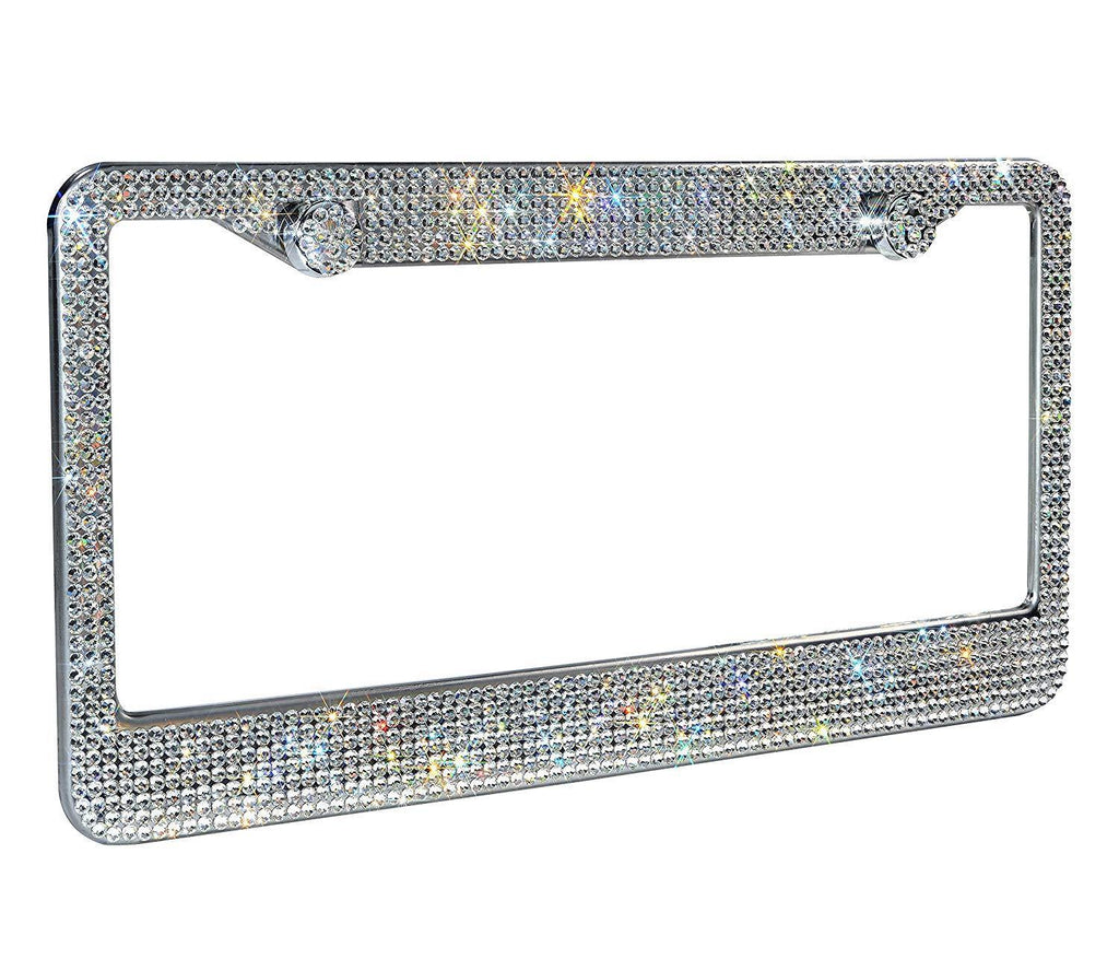 Amazing License Plate Frame Rhinestone