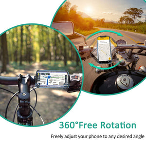 360°Rotation Silicone Bicycle/Motorcycle Phone Holder
