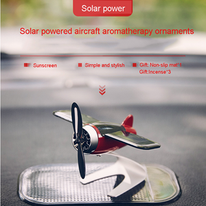 【Limited Time Offer】Solar airplane aromatherapy