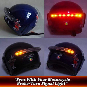 Wireless Helmet Brake&Turn Lights