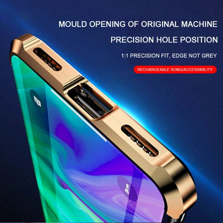 2019 Advanced Frameless Magnetic Phone Case For IPhone