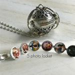Expanding Photo Locket - For Couple Women Men or Festival Gift Jewelry