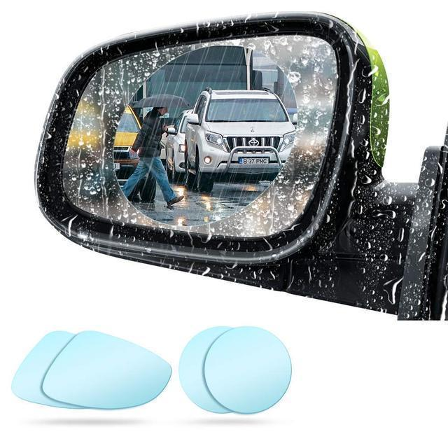 2PCS CAR REARVIEW MIRROR FILM, ANTI-FOG ANTI-GLARE ANTI-SCRATCH, RAINPROOF - SOGO-LIFE