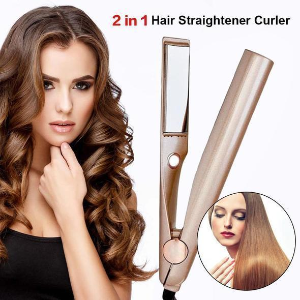 🔥Last day promotion🔥80%OFF🔥2 In 1 Twist Straightening Curling Iron