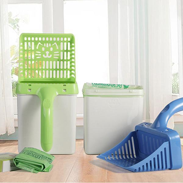 Cat Litter Sifter Scoop System