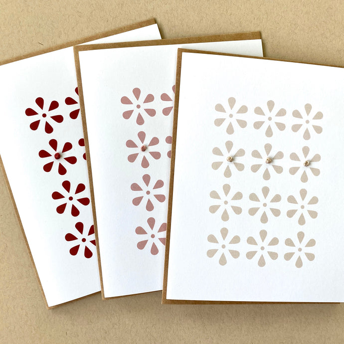 flower card set