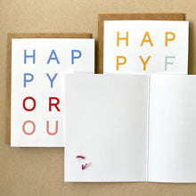 Load image into Gallery viewer, happy for you! card set