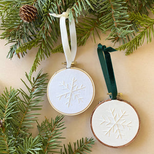 "3"" snowflake ornaments"