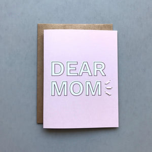 dear mom cards