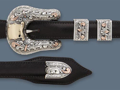 "Clint Orms 3/4"" DAWSON 1824 Belt Buckle Set"