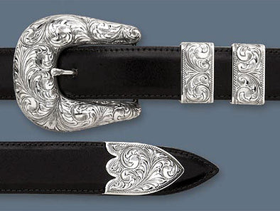 "Clint Orms 1"" PECOS 1801 Belt Buckle Set"