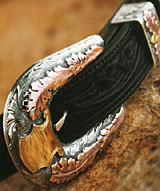 "Clint Orms 1"" PECOS 1855 Belt Buckle Set"