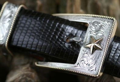 "Clint Orms 1"" TAYLOR 1809 Belt Buckle Set"
