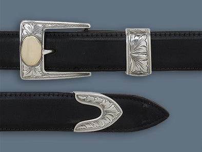 "Clint Orms 1"" TAYLOR 1815 Belt Buckle Set"