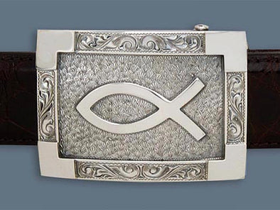 "Clint Orms CAMP 1800 Trophy Belt Buckle 2.7"" x 1.98"""