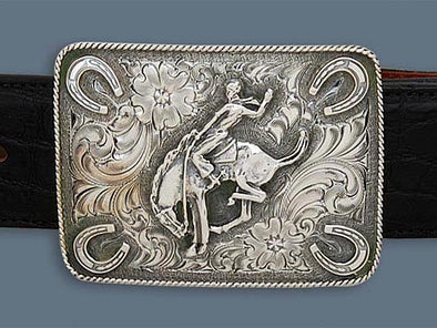 "Clint Orms DIMMIT 1802  Trophy Belt Buckle 3"" x 2.25"""