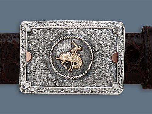 "Clint Orms HARDIN 1801 Trophy Belt Buckle 2.5"" x 1.75"""