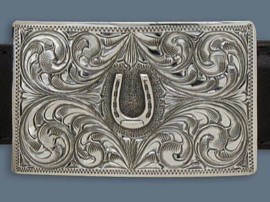 "Clint Orms ZAVALA 1803  Trophy Belt Buckle 2.25"" x 1.4"""