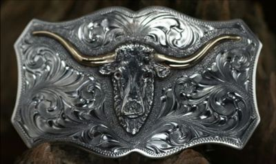 Clint Orms TRINITY 1805 Trophy Belt Buckle