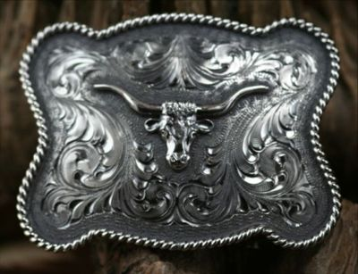 Clint Orms WASHINGTON 1801 Trophy Belt Buckle